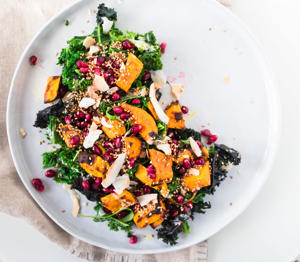SWEET POTATO KALE SALAT