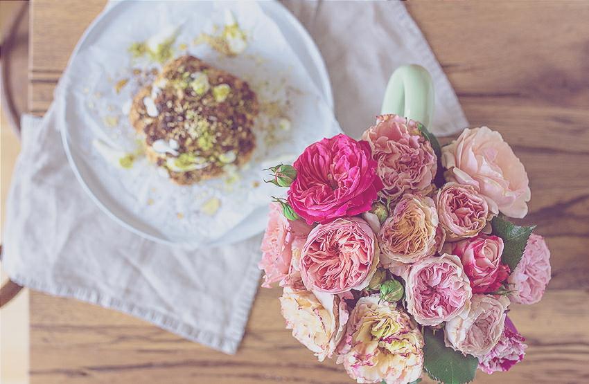 ganzer Blumenkohl aus dem Ofen