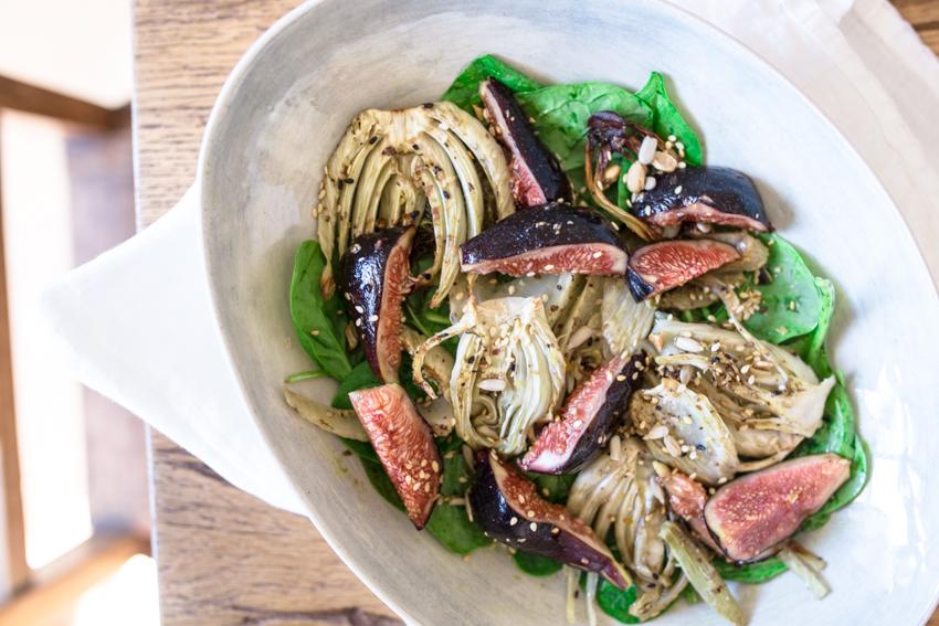 Fenchel Feigen Salat