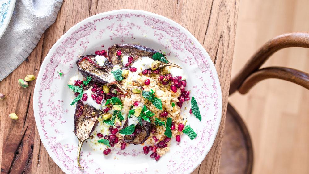 Eggplant Couscous Foodscout