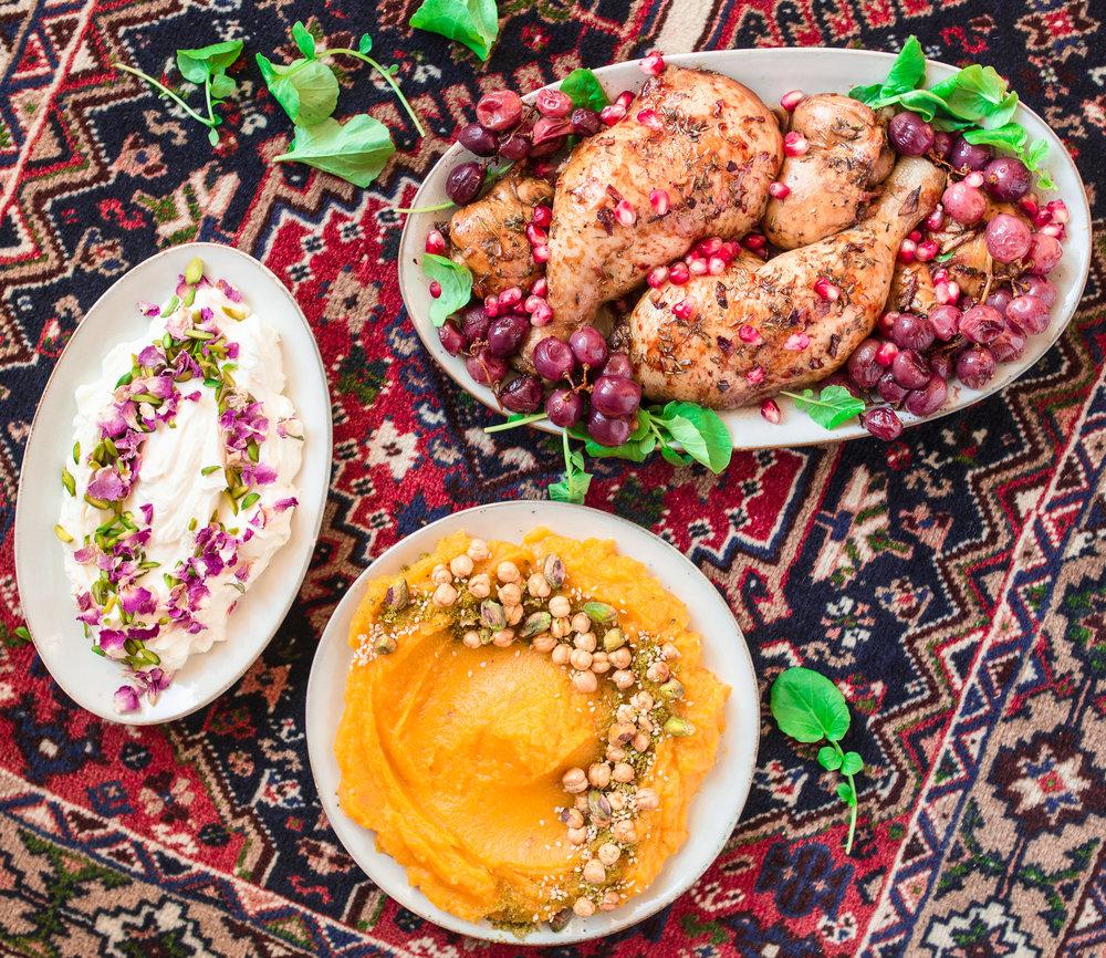 iran persisches festessen