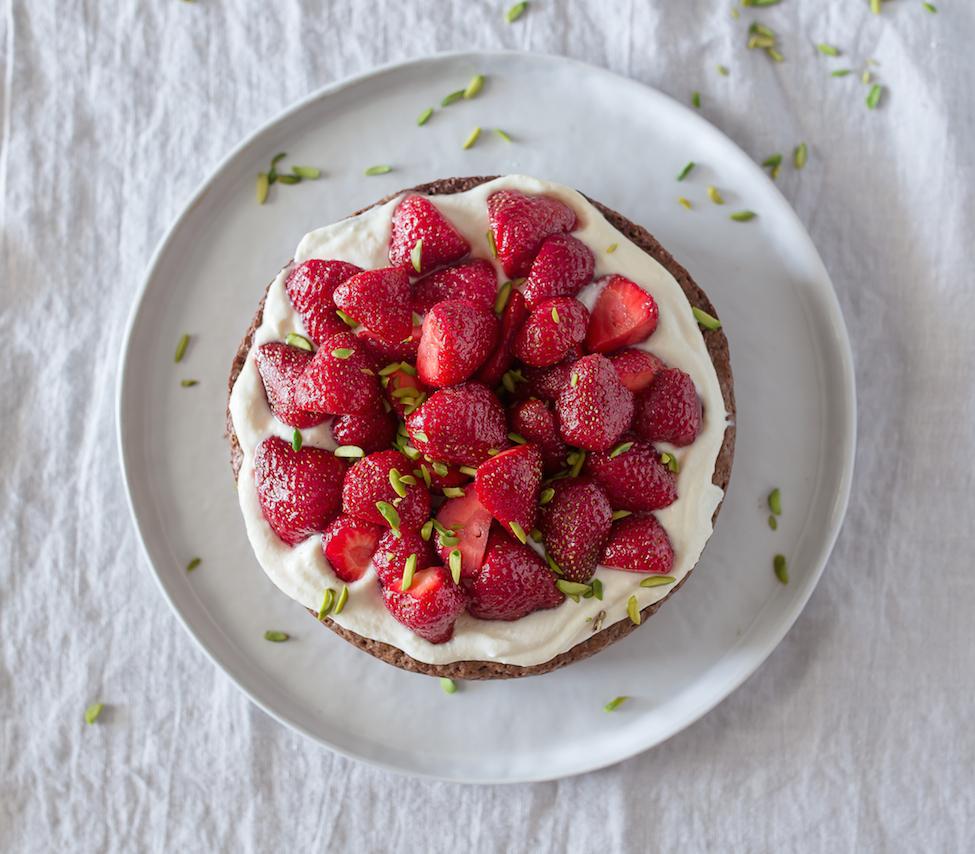 Schokolade_Cake_Erdbeeren_Ricotta
