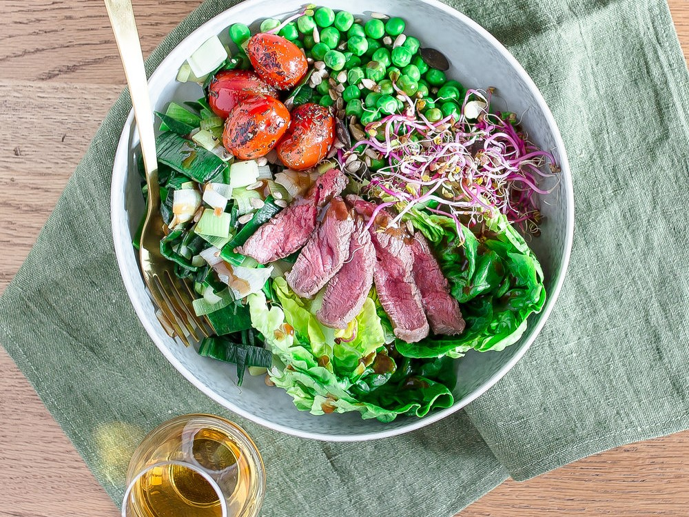 IRISH BEEF SALAD BOWL