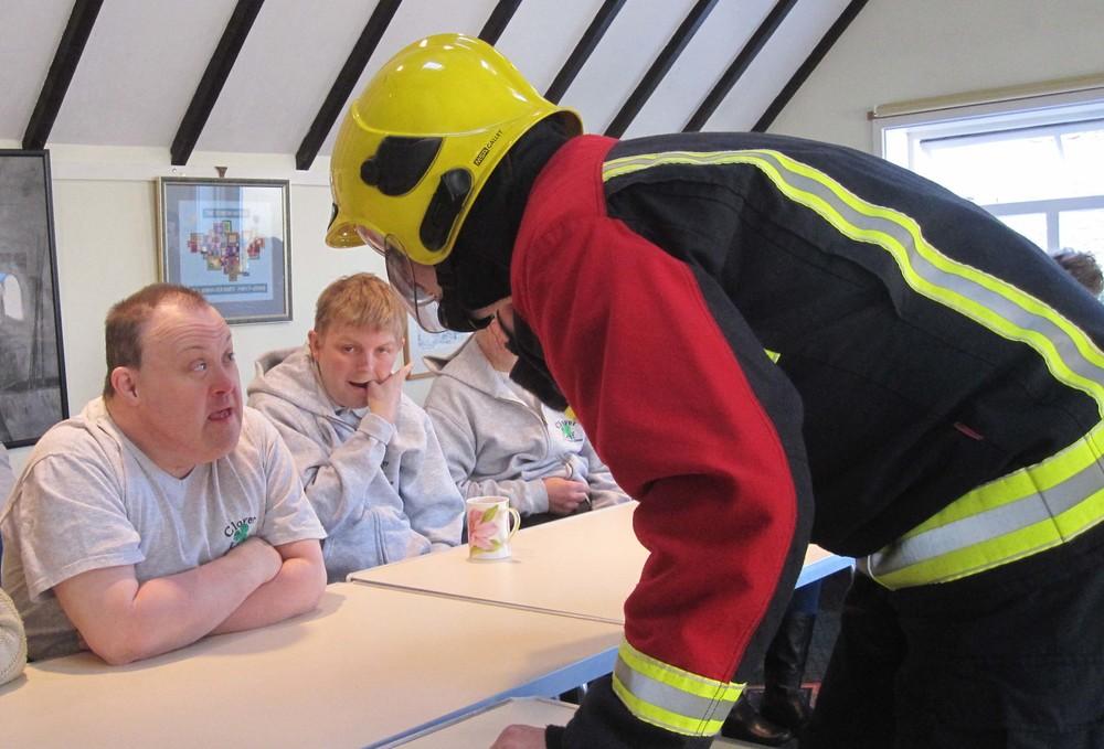 Stourbridge fire brigade visit