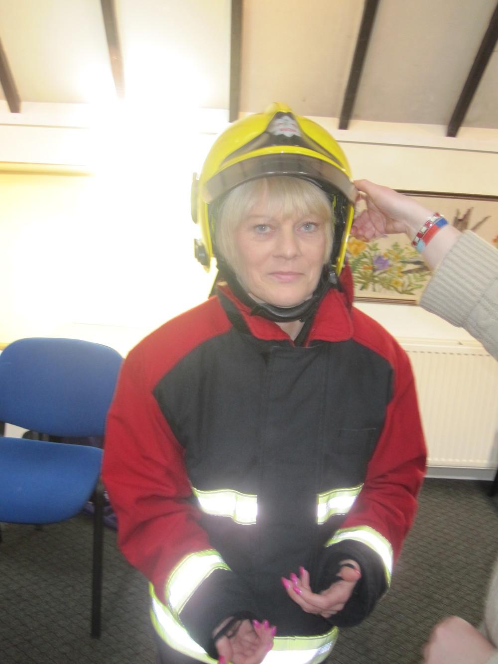 fireman Tracey