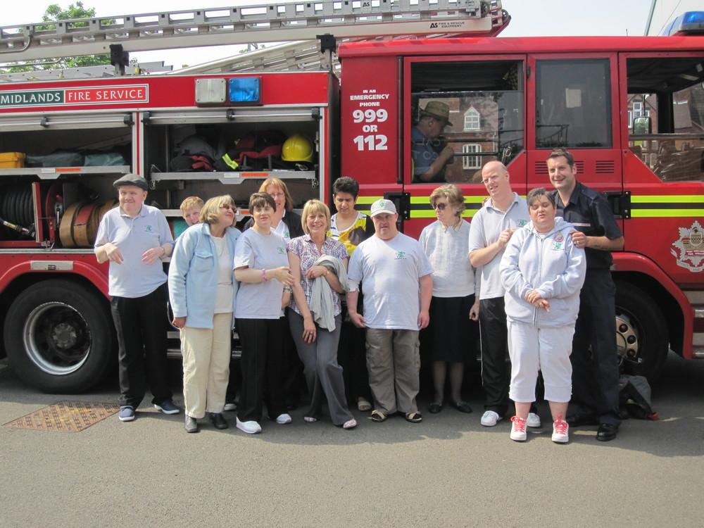 Stourbridge fire station.