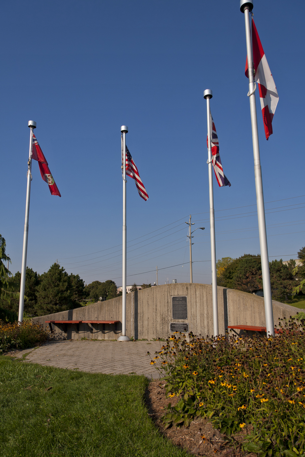 Camp X Monument in Durham Region photograph by  Gary Blakeley