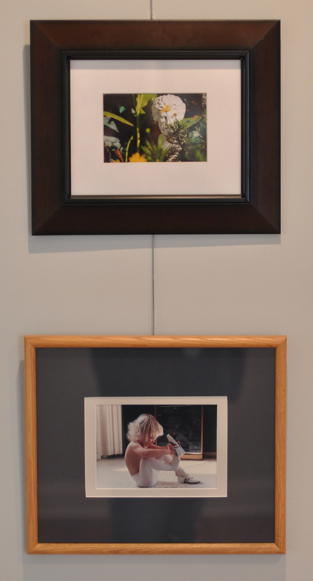 "Untitled (top)   Photograph    ""Mary Katherine""   Photograph    Jan Moore 1975-1976"