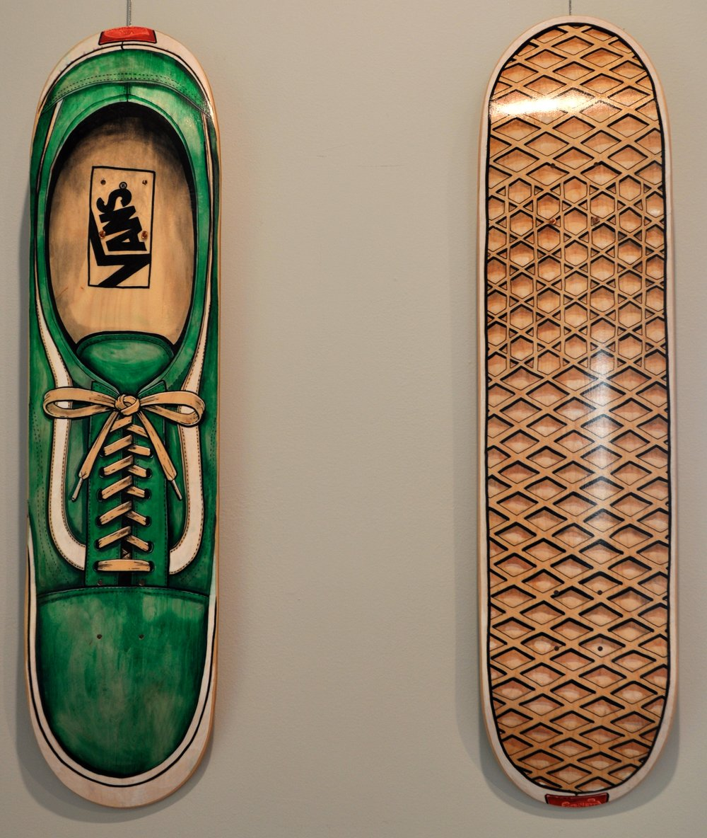 Old Skool Walk / Old Skool Waffle   mixed media  - Jeremy Selzer