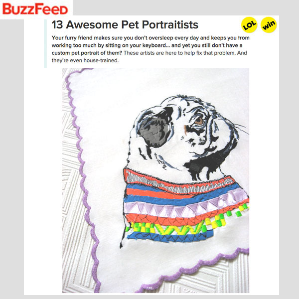 BuzzFeed - Awesome Pet Portraitists