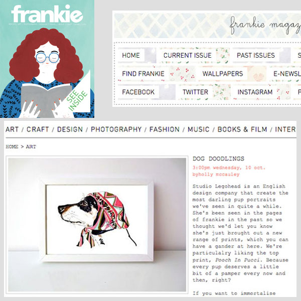 frankie - Dog Doodlings