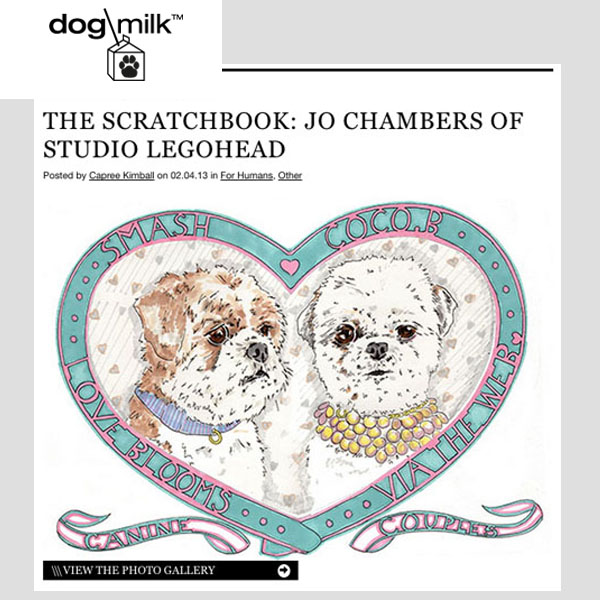 Dog Milk - The Scratchbook