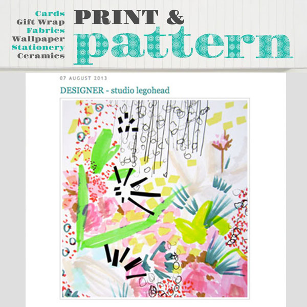 Print & Pattern - Featured Designer