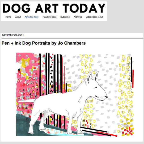 Dog Art Today