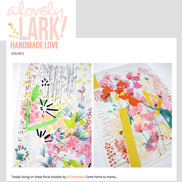 A Lovely Lark - Handmade Love