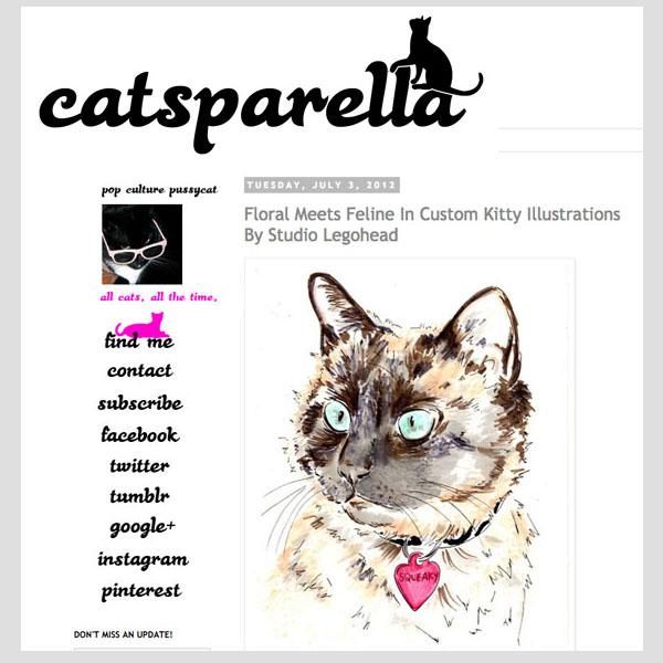 Catsparella - Floral Meets Feline