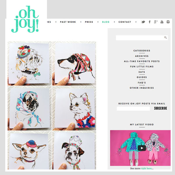 Oh Joy! - The Most Stylish Pups