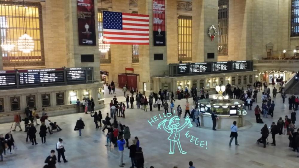 Grand Central station!