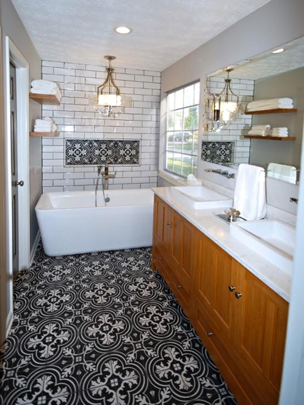 Small Bath Big Style U2014 Heritage Homes And Designs (a Division Of NKCS, Inc.)