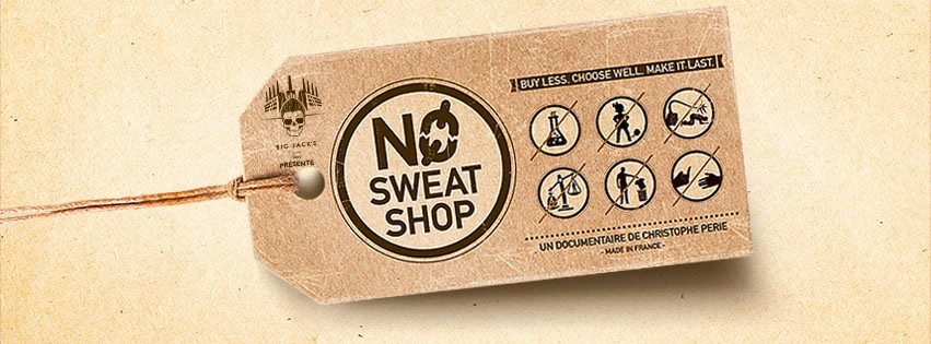 """Documentary by Christophe Perie """" NO SWEAT SHOP"""" Coming Soon"""