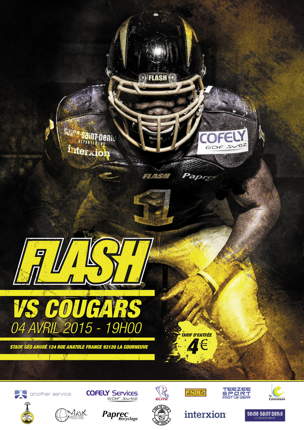 FLASH 2015 Football Season Poster