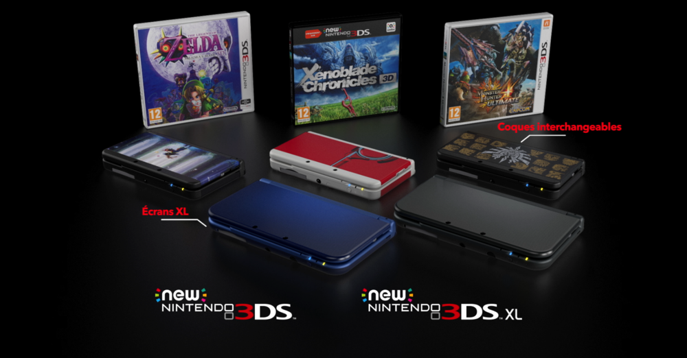 NINTENDO NEW 3DS RANGE TRAILER