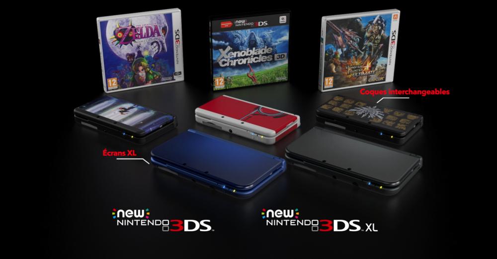 NINTENDO NEW 3DS RANGE TRAILER