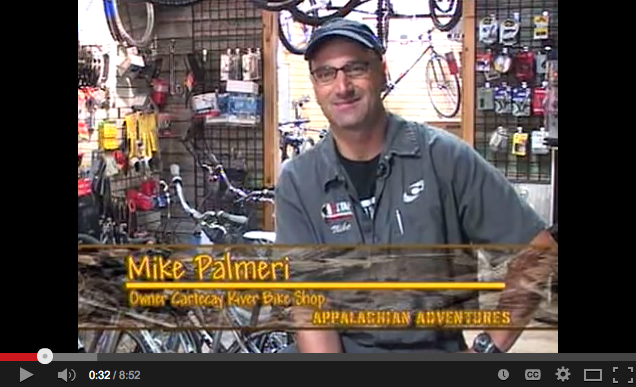 Appalachian Adventures TV Show - Feature episode for Cartecay Bike Shop