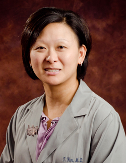 Teresa Kim, M.D., F.A.A.P     Dr. Kim graduated from the University of Chicago Pritzker School of Medicine and completed her pediatric residency at Rainbow Babies and Children's Hospital, University Hospitals of Cleveland, in Cleveland, Ohio. She is Board-Certified in Pediatrics and joined Northside-Suburban Pediatric Associates in 1999.