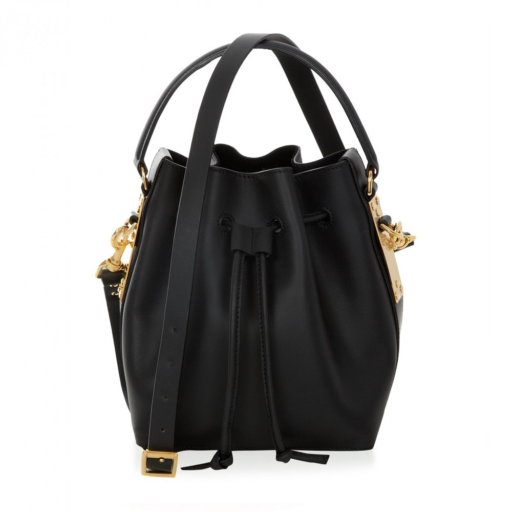 Sophie Hulme Mini Drawstring Bucket Bag