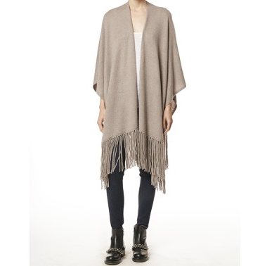360's fringed sweater is just the piece to ward off the early autumn chill - while looking sleek and on-trend.