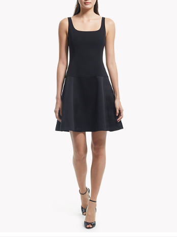 5819c8d274a13 Theory Avanta C Dress — Black Caviar