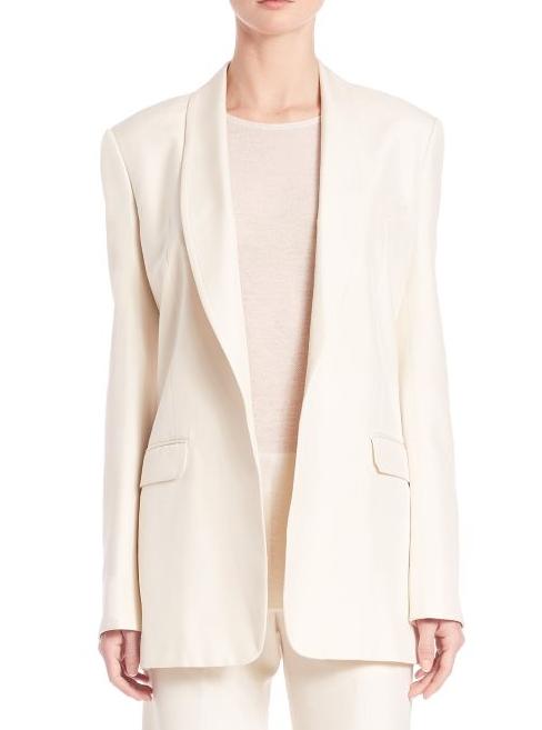 Helmut Lang blazer - worn 40 times/ per year = $23.88 per wear