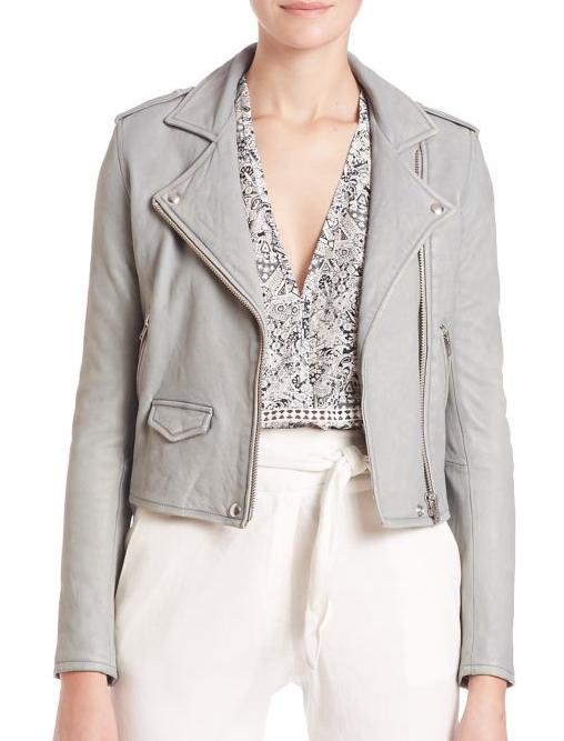 Iro leather jacket - worn 65 times/ per year = $21.51 per wear