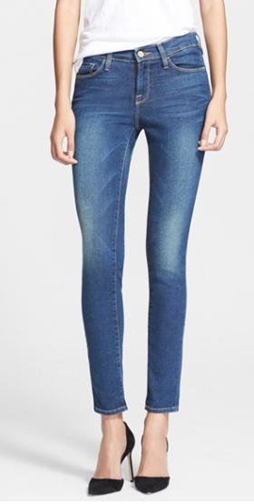 Frame Le Skinny jeans - worn 35/ per year = $7.43/ per wear