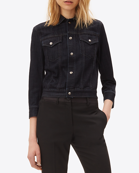 Helmut Lang denim jacket - worn 35 times/ per year = $14.29 per wear