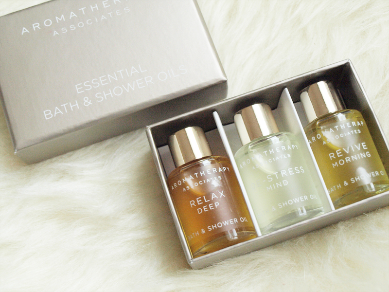 Aromatherapy Associates Essential Bath & Shower Oils $52