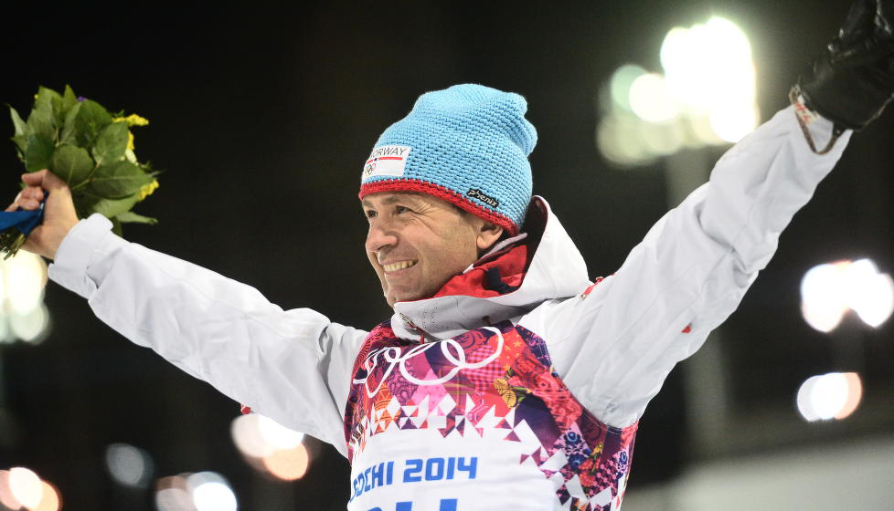 Ole Einar Bjørndalen hadde et stort OL og fikk med seg to gullmedaljer hjem.