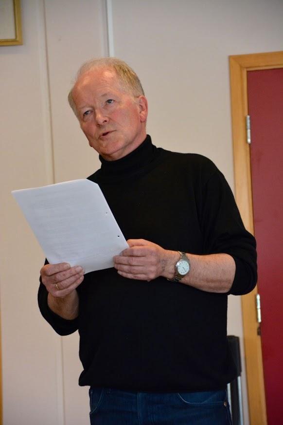 Formann i grendalaget, Jostein Østhus.