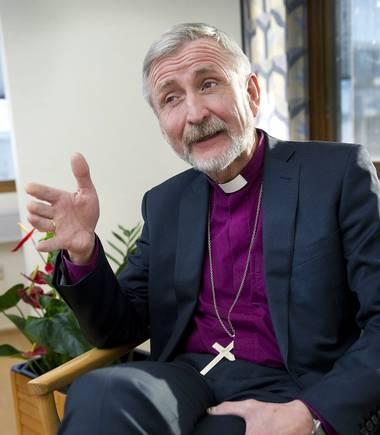 Biskop Erling Pettersen (foto: Stavanger Aftenblad)