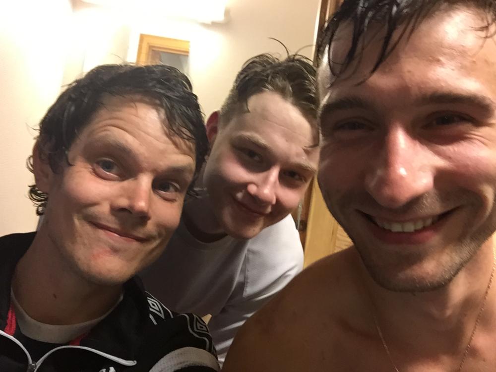 Fogn sine tremålskårarar: Håvard, Ørjan og Sergej