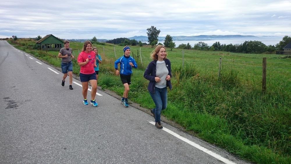 Foto frå fognamarsjen 2015. Foto: Helge Magnar Iversen