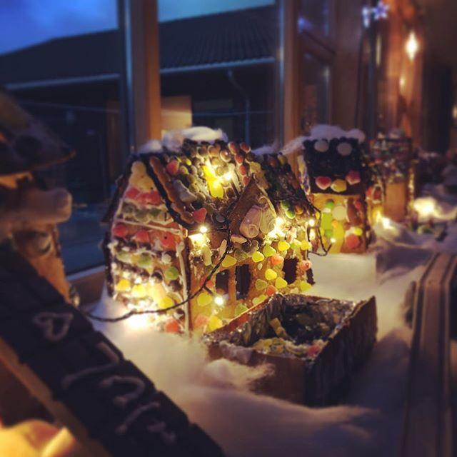 Pepperkakebyen på Fogn oppvekstsenter står klar til advent 2018!