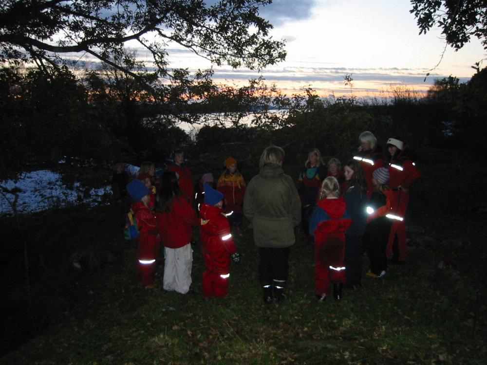 Speidaraktivitet på Varhaug hausten 2003.jpg