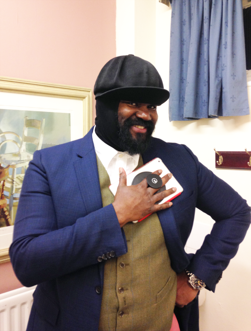 Gregory Porter with G-Hold