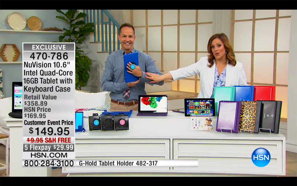 G hold launches on the home shopping network in the usa for Shopping for home