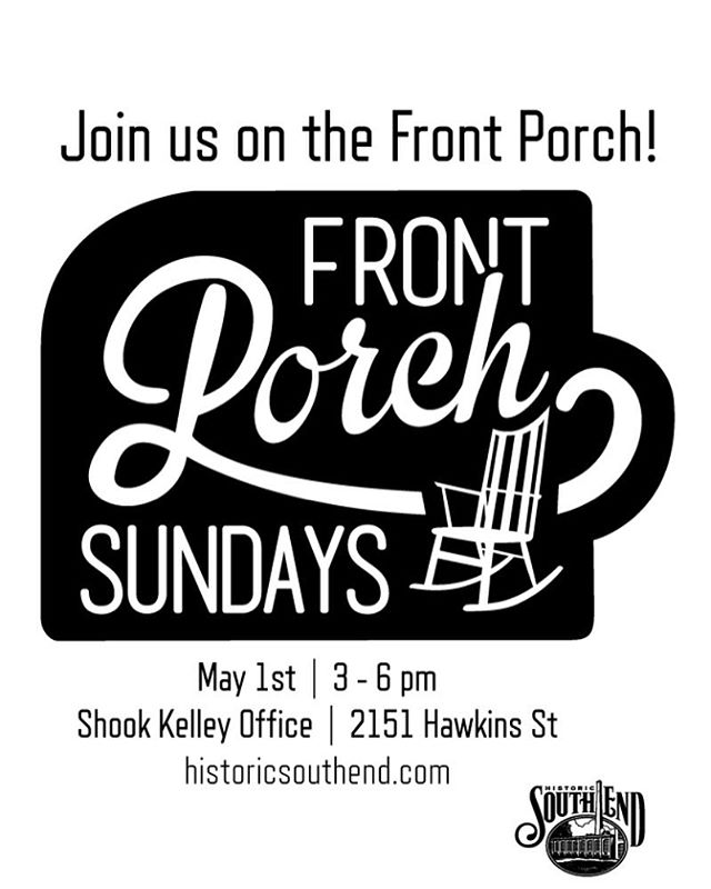 Hey cookie lovers, come see me this Sunday on the front porch in Southend! Buy some cookies, a tshirt and preorder your Mom a Cookie Basket for Mothers Day! @frontporchsundays #frontporchsundays #thecookiecult