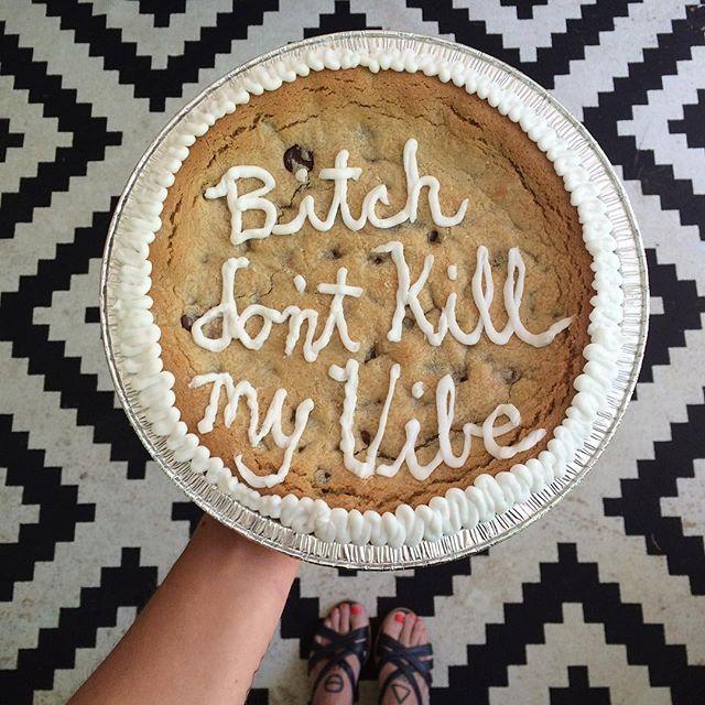 Kendrick Cookie Cake #kendricklamar #thecookiecult