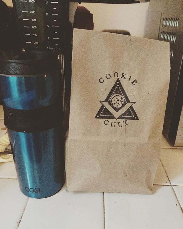 Just the essentials ☕️🍪 #thecookiecult