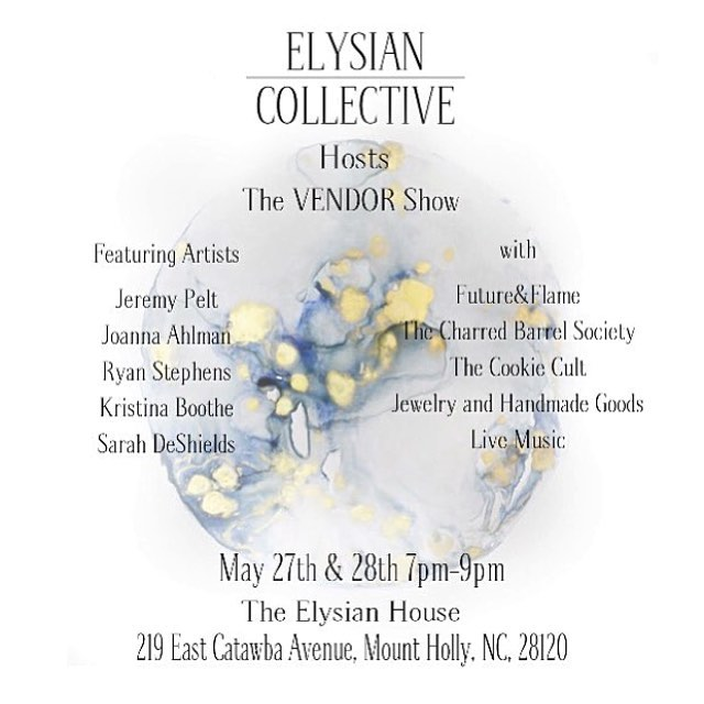 What up cookie lovers? I'll be selling yummy treats at the Elysian Collective Vendor Show this Friday and Saturday evening 7-9pm. There will be blind whiskey tastings from @charredbarrel , beautiful celestial paintings from @thatgoodnight , sweet apparel from @futureandflame and much more! Grab a date and come on out! #thecookiecult
